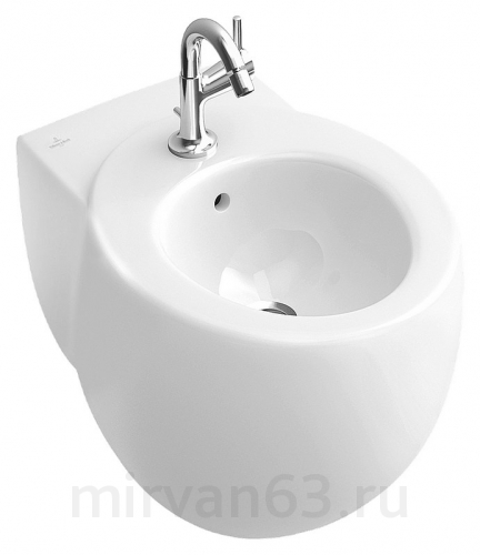 Биде подвесное Villeroy & Boch Aveo plus 7411 00R2 star white